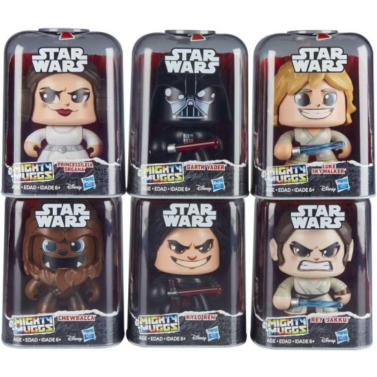 Mighty Muggs Star Wars set of 6 different muggs