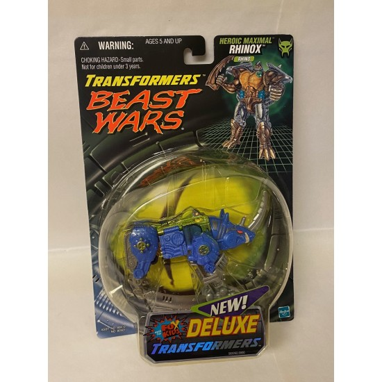 Transformers Beast Wars Heroic Maximal Rhinox 1999