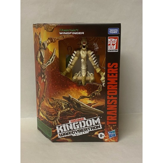 Transformers Generations War for Cybertron: Kingdom Deluxe Wingfinger