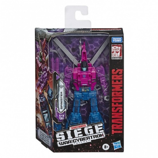 Transformers Siege Spinister