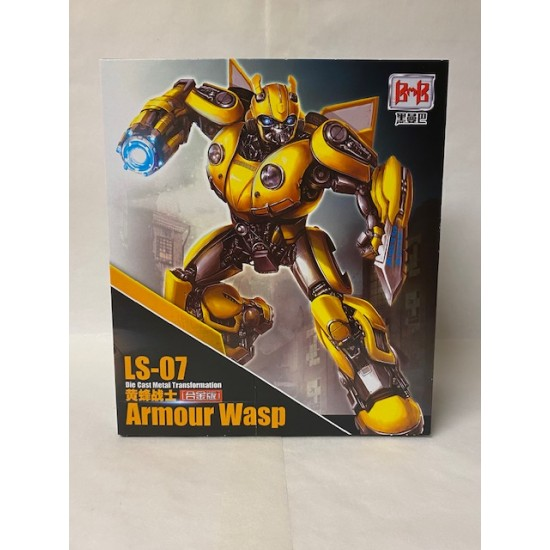 Black Mamba LS-07 Armour Wasp (Bumblebee)