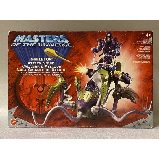 Masters of the Universe 200X Skeletor Attack Squid MISB